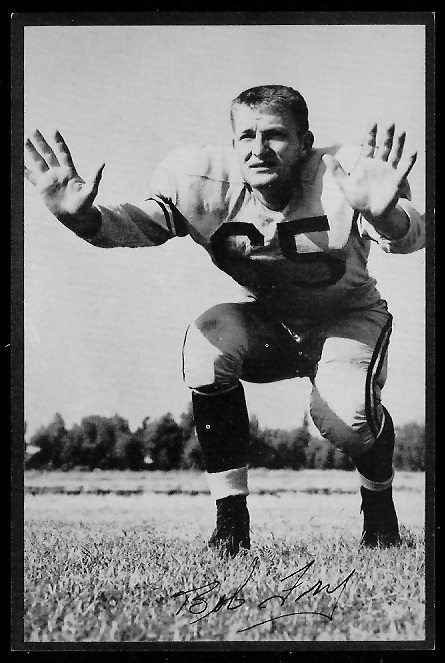 1953 Rams Team Issue #9 - Bob Fry - exmt
