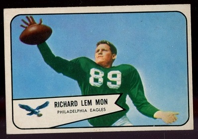 1954 Bowman #114 - Richard Lemmon - exmt