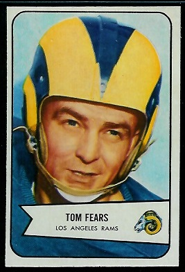 1954 Bowman #20 - Tom Fears - nm