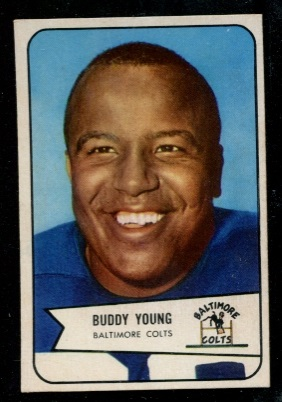 1954 Bowman #38 - Buddy Young - nm