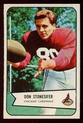 1954 Bowman #48 - Don Stonesifer - nm+