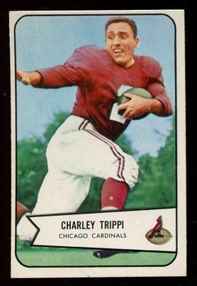1954 Bowman #60 - Charley Trippi - exmt