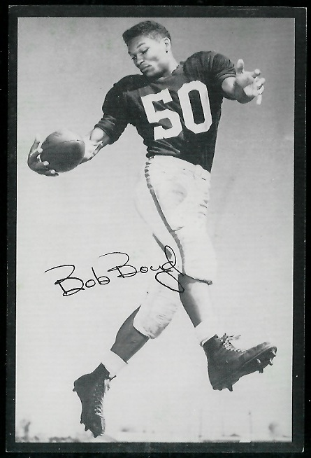 1954 Rams Team Issue #1 - Bob Boyd - ex