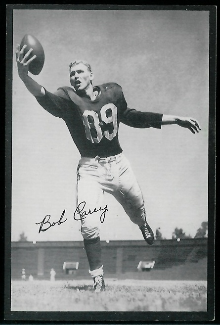 1954 Rams Team Issue #2 - Bob Carey - exmt