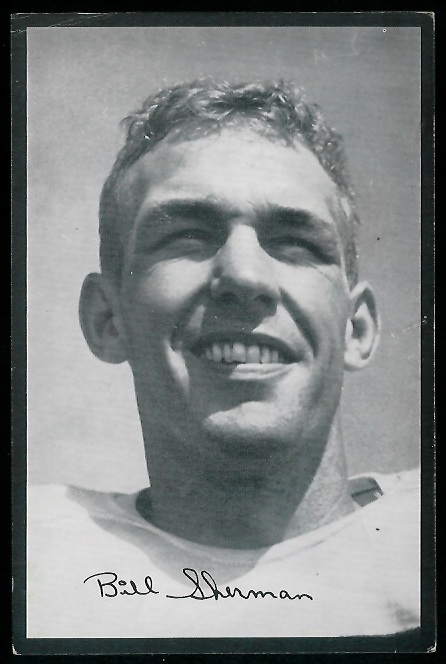 1954 Rams Team Issue #26 - Will Sherman - vg