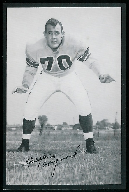 1954 Rams Team Issue #29 - Charles Toogood - nm