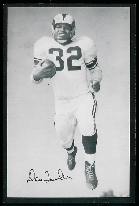 1954 Rams Team Issue #30 - Dan Towler - ex