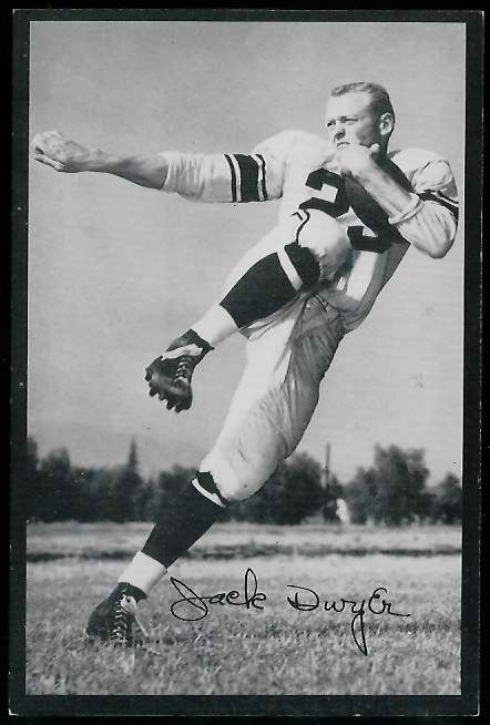 1954 Rams Team Issue #6 - Jack Dwyer - exmt