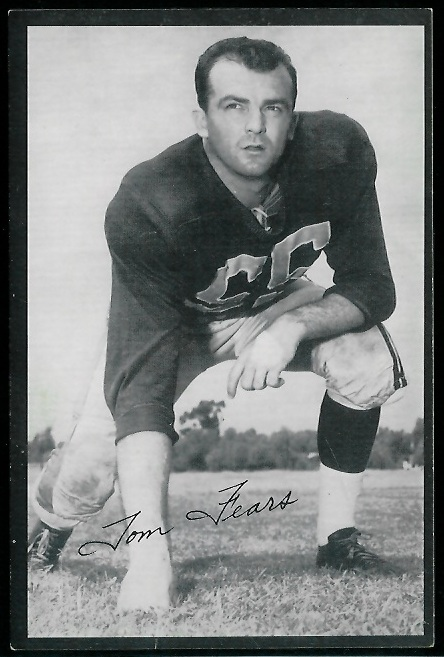 1954 Rams Team Issue #7 - Tom Fears - ex