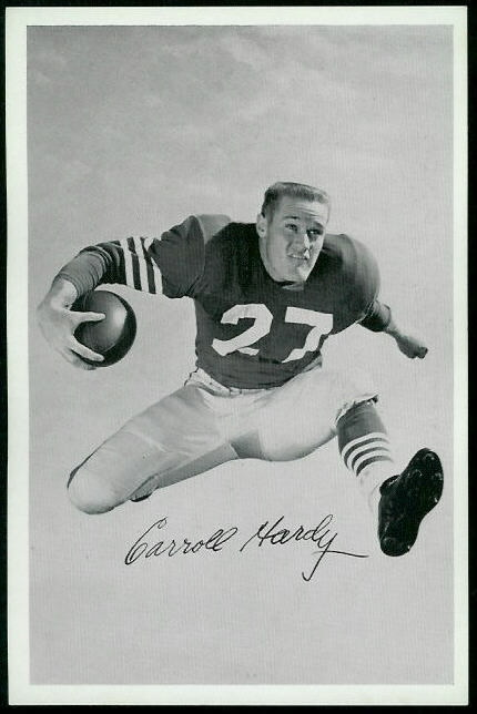 1955 49ers Team Issue #13 - Carroll Hardy - nm