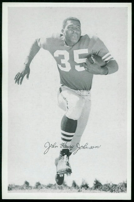 1955 49ers Team Issue #18 - John Henry Johnson - nm