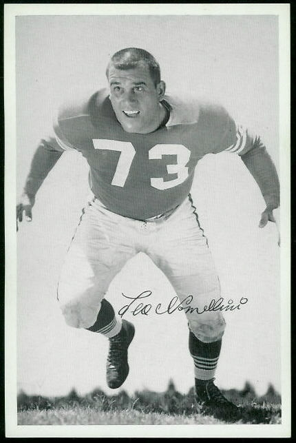 1955 49ers Team Issue #26 - Leo Nomellini - exmt