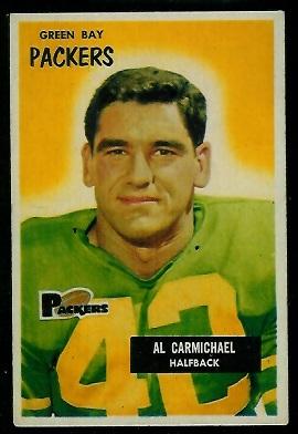 1955 Bowman #102 - Al Carmichael - exmt
