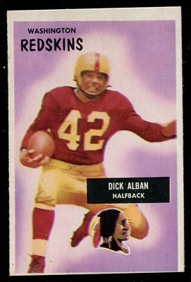1955 Bowman #12 - Dick Alban - ex
