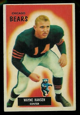 1955 Bowman #125 - Wayne Hansen - ex