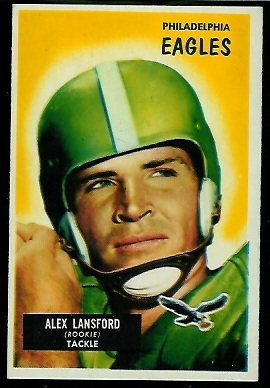 1955 Bowman #126 - Buck Lansford - nm