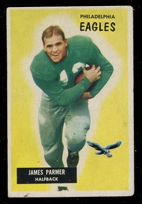 1955 Bowman #135 - James Parmer - good