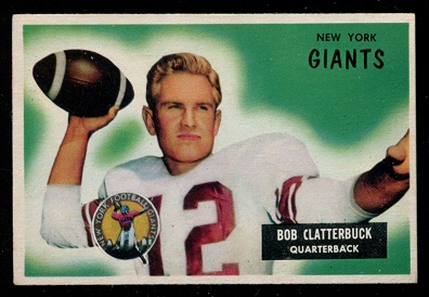 1955 Bowman #141 - Bob Clatterbuck - ex