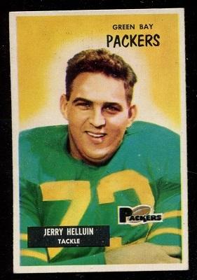 1955 Bowman #144 - Jerry Helluin - exmt