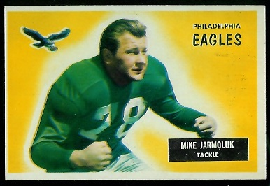1955 Bowman #151 - Mike Jarmoluk - nm oc