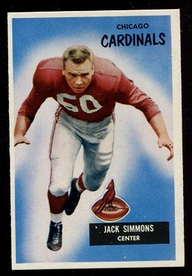 1955 Bowman #27 - Jack Simmons - nm
