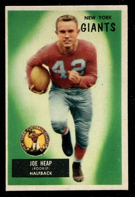 1955 Bowman #55 - Joe Heap - ex