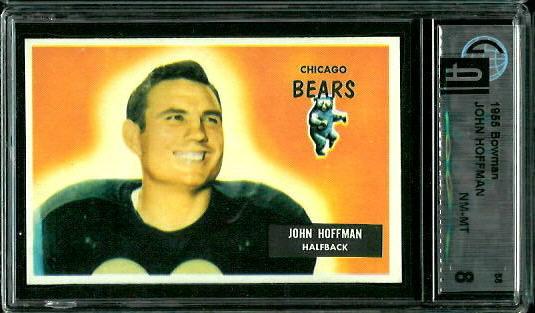 1955 Bowman #56 - John Hoffman - GAI 8