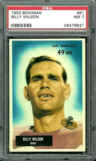 football cards for sale. New Cards for Sale: PSA-Graded 1955 Bowman | Nearmint's Vintage Football