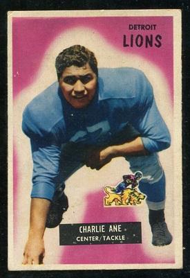 1955 Bowman #59 - Charlie Ane - vg-ex