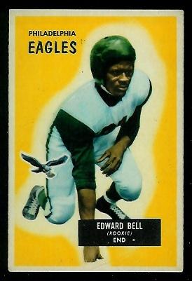 1955 Bowman #67 - Eddie Bell - vg