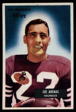 1955 Bowman #85 - Joe Arenas - exmt