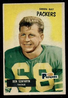 1955 Bowman #86 - Len Szafaryn - ex+