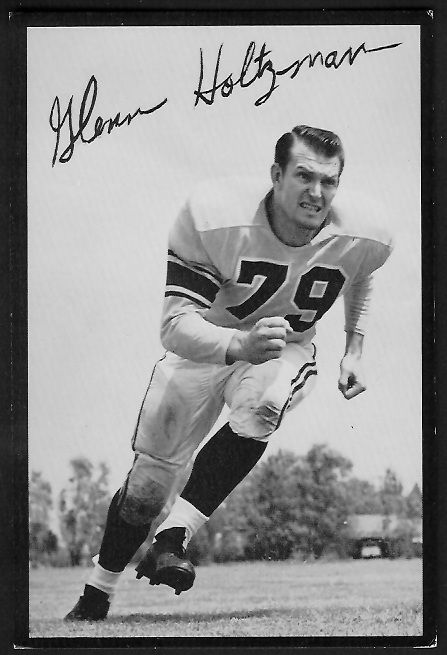 1955 Rams Team Issue #16 - Glenn Holtzman - ex