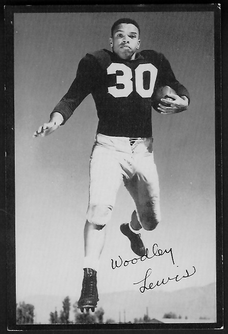 1955 Rams Team Issue #18 - Woodley Lewis - ex