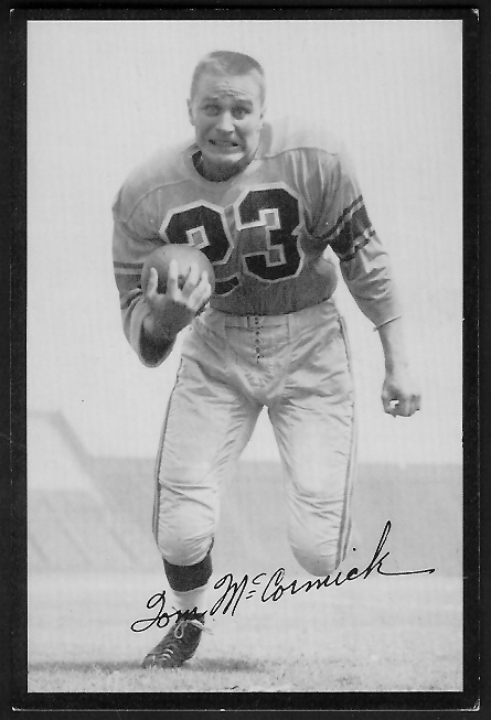 1955 Rams Team Issue #20 - Tom McCormick - ex
