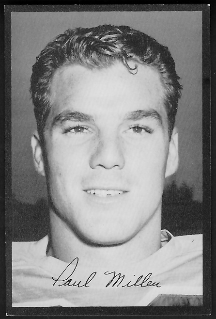 1955 Rams Team Issue #23 - Paul Miller - exmt