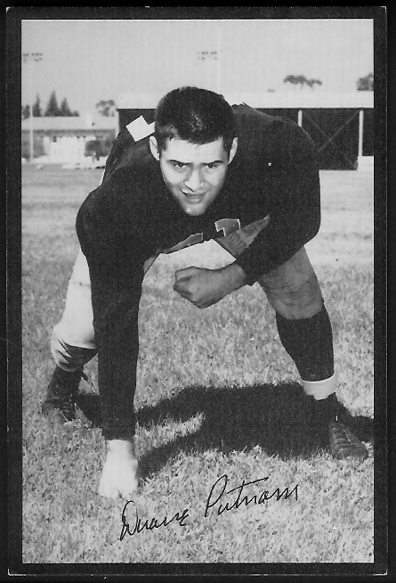 1955 Rams Team Issue #26 - Duane Putnam - ex