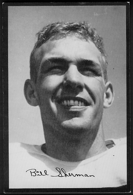 1955 Rams Team Issue #30 - Will Sherman - vg-ex