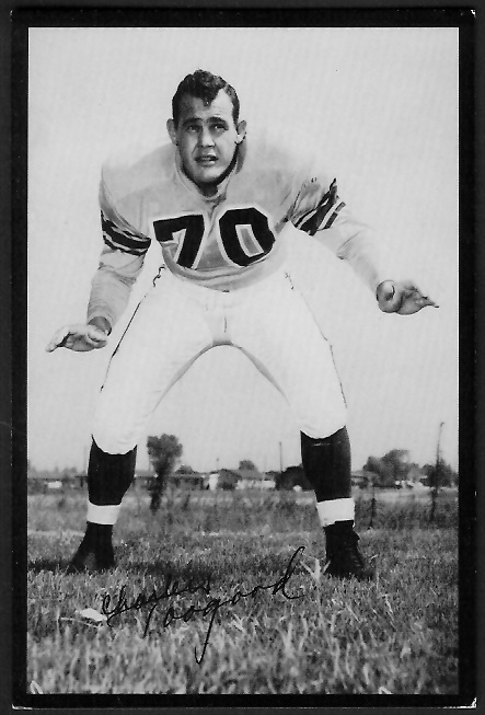 1955 Rams Team Issue #32 - Charles Toogood - ex