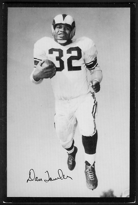 1955 Rams Team Issue #33 - Dan Towler - ex