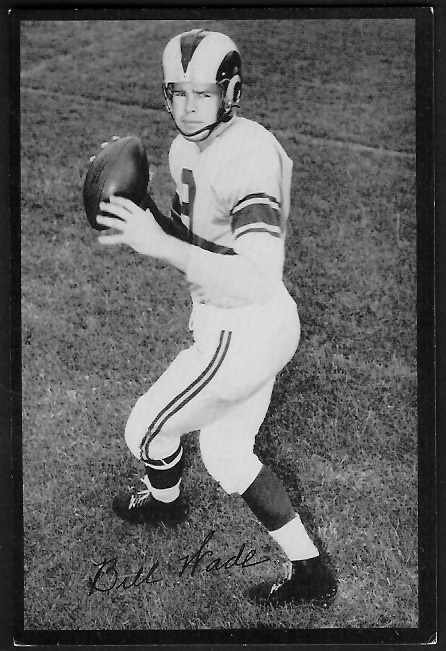 1955 Rams Team Issue #35 - Bill Wade - ex