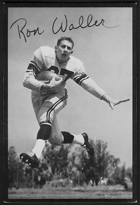 1955 Rams Team Issue #36 - Ron Waller - ex