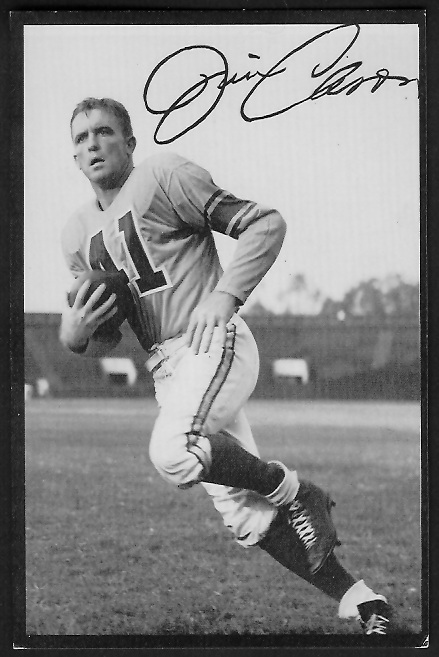 1955 Rams Team Issue #4 - Jim Cason - ex