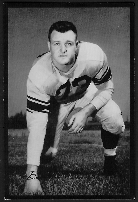 1955 Rams Team Issue #5 - Bobby Cross - ex