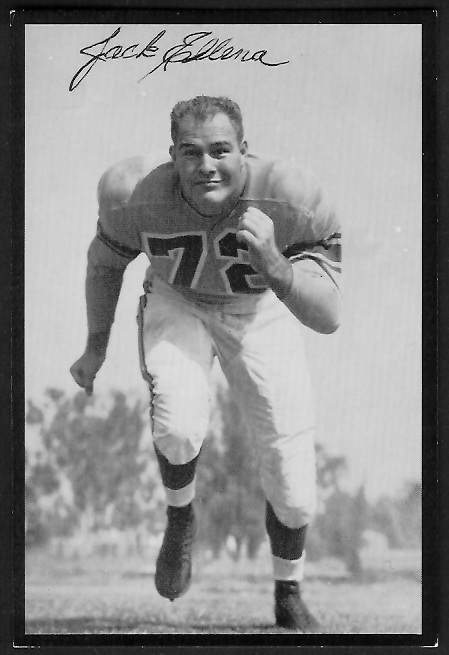 1955 Rams Team Issue #6 - Jack Ellena - ex