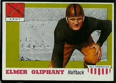 1955 Topps All-American #45 - Elmer Oliphant - exmt