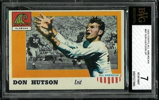 1955 Topps All-American #97 - Don Hutson - BVG 7