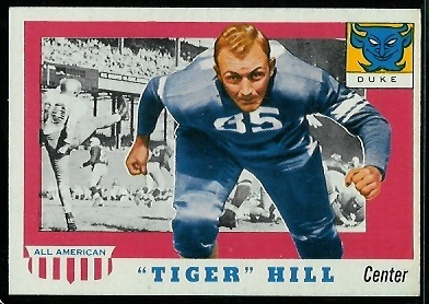 1955 Topps All-American #60 - Tiger Hill - nm oc