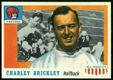 1955 Topps All-American #61 - Charley Brickley - exmt