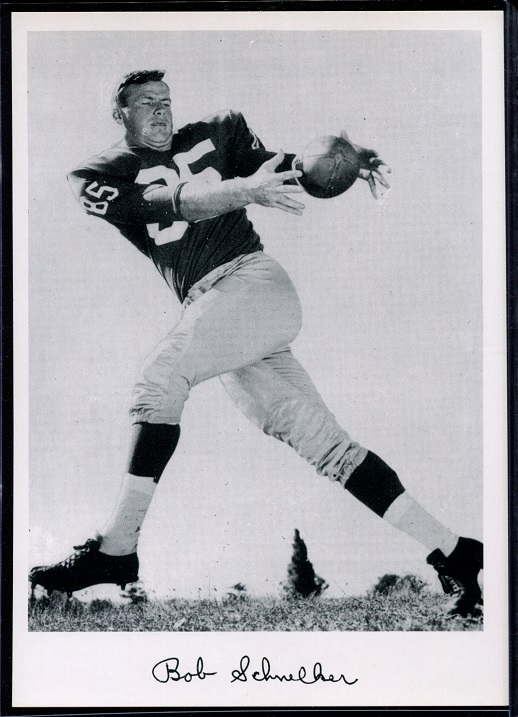 1956 Giants Team Issue #26 - Bob Schnelker - nm